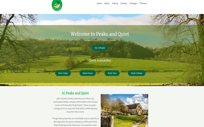 Peaks and Quiet Holiday Cottages