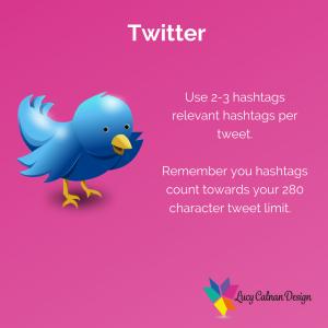 Twitter hashtag advice